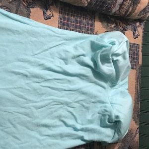 No Boundaries Intimates & Sleepwear - Turquoise Camisolle with Bra